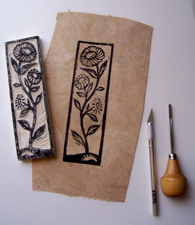 Tutorial Make your own botanical rubber stamps valwebbcom