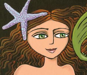 mermaid-closeup