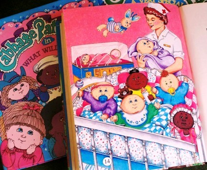Some work from my Cabbage Patch Kids days