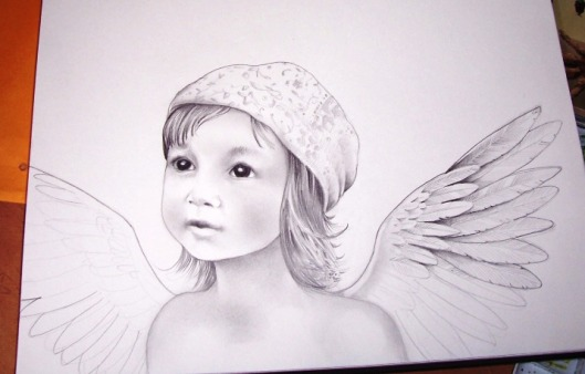 angelchild sketch