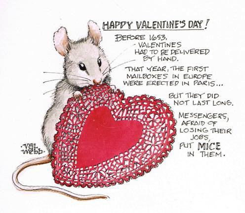 ... journal mice sketchbook trivia val webb valentine s day watercolor