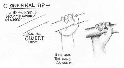 how to draw the palm of a hand