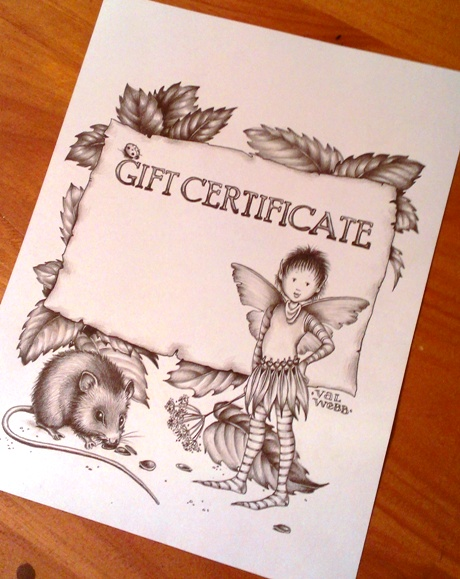Gift Certificate photo