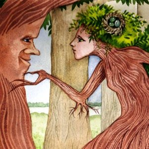 dryad and oak2