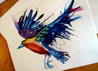 L5 Spatter BirdB