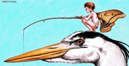 Val Webb - heron fisherman2