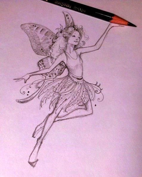 Fairies for Fairy painting easy