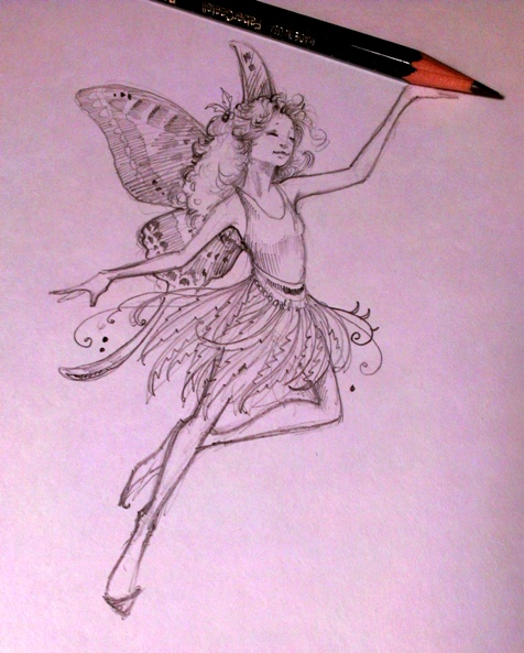 FB Fairy sketch
