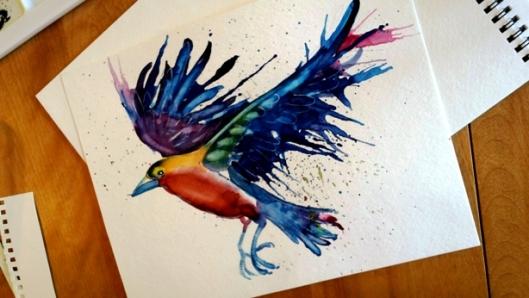 L5 Spatter Bird