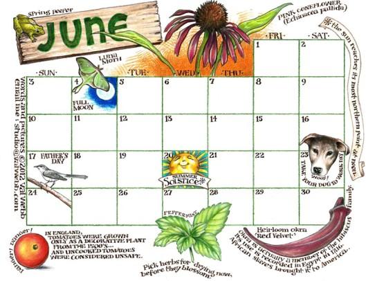 calendar june