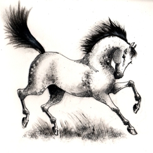 ink horse