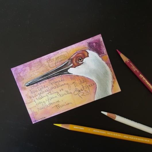 cranepostcard